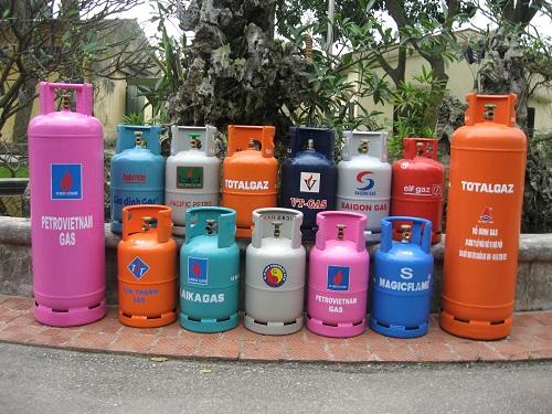 1 bình gas nặng bao nhiêu kg?