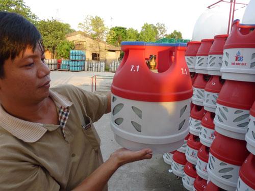 Bình gas 6kg cả vỏ và ruột bao nhiêu tiền?