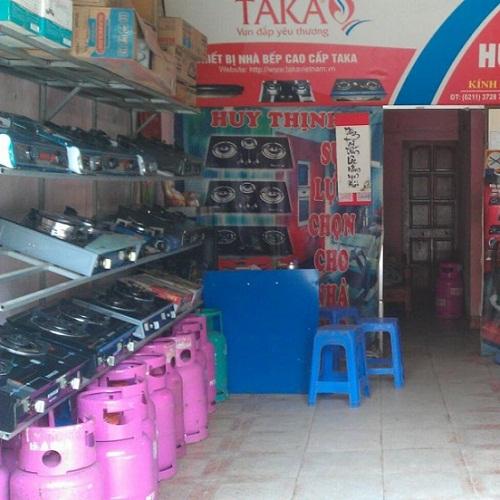 Cửa hàng gas khu vực Thanh Xuân