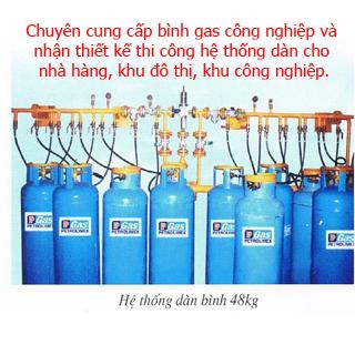 Đại lý cung cấp gas công nghiệp uy tín