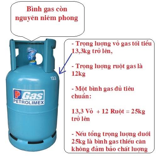 Hướng dẫn chọn bình gas chất lượng