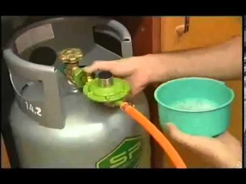 Hướng dẫn kiểm tra van gas định kỳ