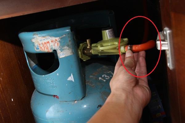 kiểm tra van gas an toàn