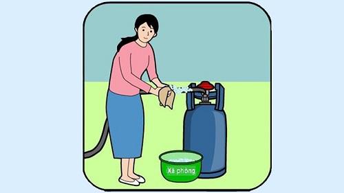 Kiểm tra van gas tại nhà