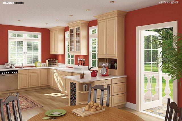 mở rộng cửa phòng bếp khi có sự cố rò rỉ khí gas
