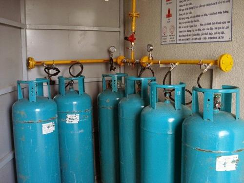 Sử dụng bình gas công nghiệp