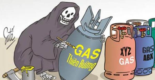 sử dụng gas an toàn