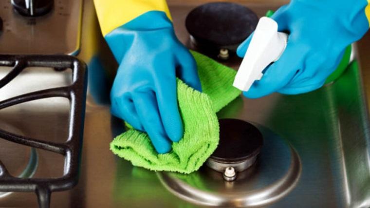vệ sinh bếp gas thường xuyên